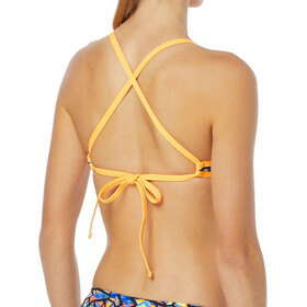 TYR Costa Mesa Pacific Tieback Bikini Top Women orange/purple